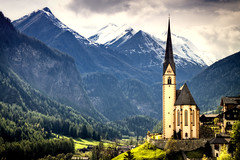 Of God and Mountains (mpb11) Tags: travel mountains church landscape bavaria austria scenic heiligenblut bestofmywinners