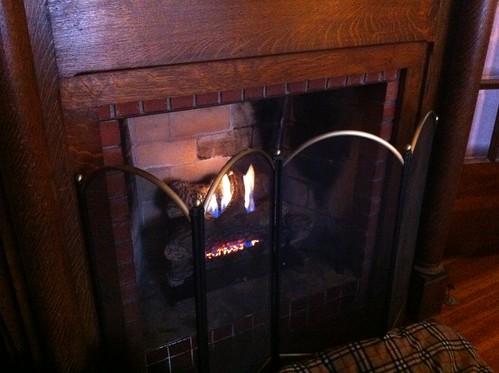 New gas log