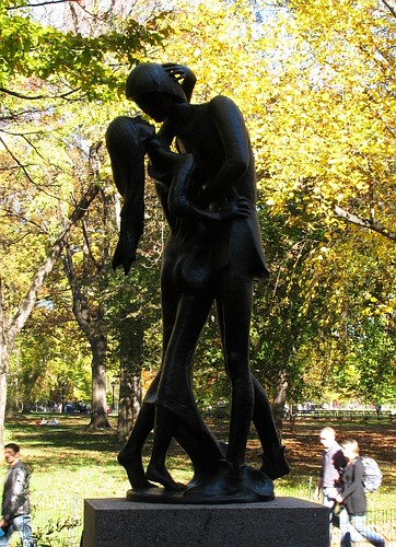 Romeo and Juliet Statue Central Park