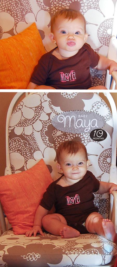 Maya 10 Months