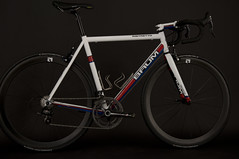 Ristretto, GTA white, red and blue (Baum Cycles) Tags: bike bicycle steel gta baum ristretto