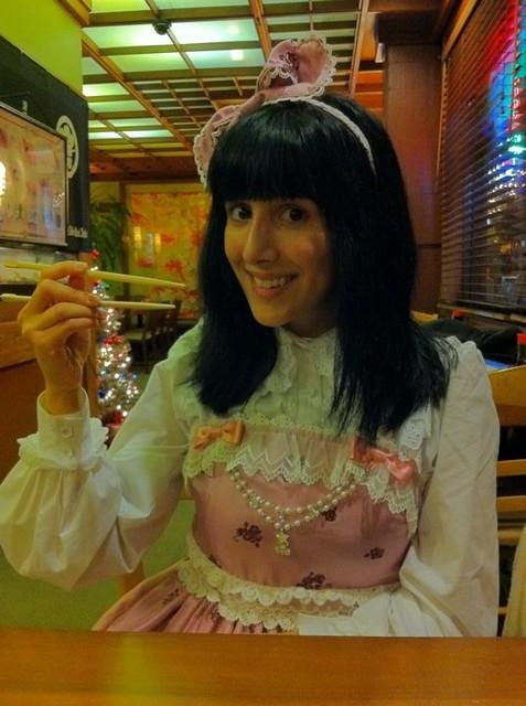 Eating in Japan Town!