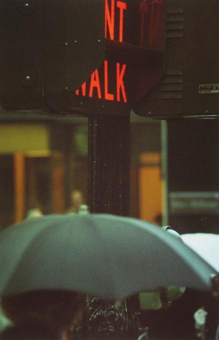 Saul Leiter, Don't Walk