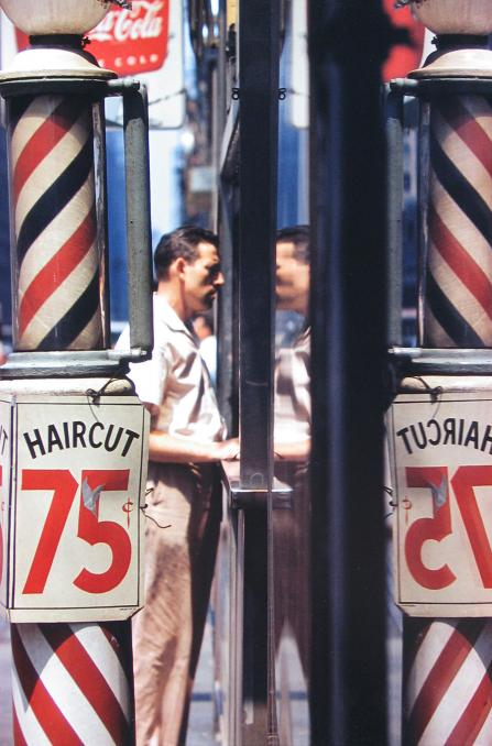 Saul Leiter, Haircut, 1956