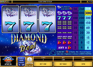 Diamond Deal slot game online review