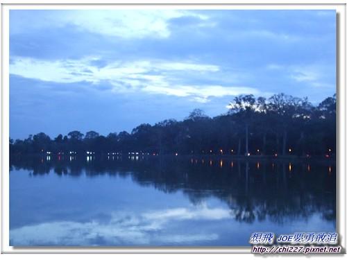 小吳哥-黃昏夜景