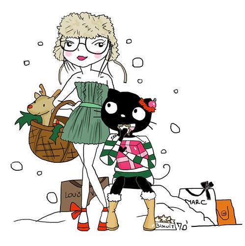 Shopping De Noel 2010