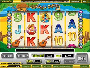 Parrot Party slot game online review