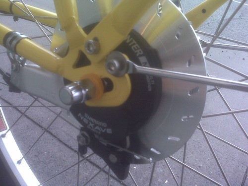 2011 boxbike brake
