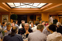 Wine tasting event (GoldenHelix Symposia) Tags: institute research medicine genetic biomedical genomics symposia genome pharmacogenomics goldenhelix translational patrinosgeorge