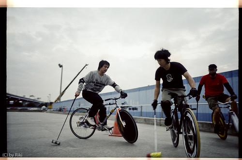 黑雷到台灣訪問 / tokyo bike polo goes to taiwan