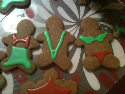 Bill's gingerbread men