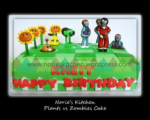 Norie s kitchen plants vs zombies cake 6