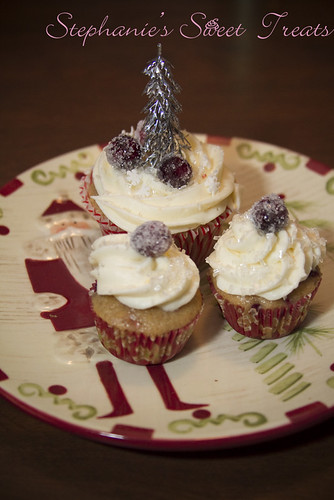 Cranberry Orange Cupcakes 6