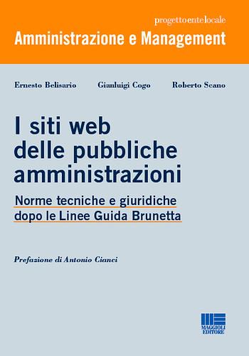 Libro - I siti web delle pubbliche amministrazioni