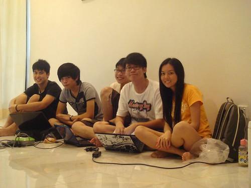 Chern Jung,Raymond,Willion,Calvin and Chee Li Kee