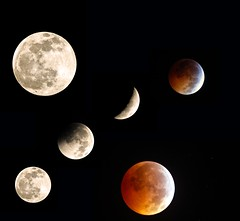 Winter Solstice Lunar Eclipse 12/21/10 (minds-eye) Tags: moon lune eclipse space satellite craters crater wintersolstice astronomy universe lunar espace solarsystem astronomie univers cratre clipse cratres systmesolaire