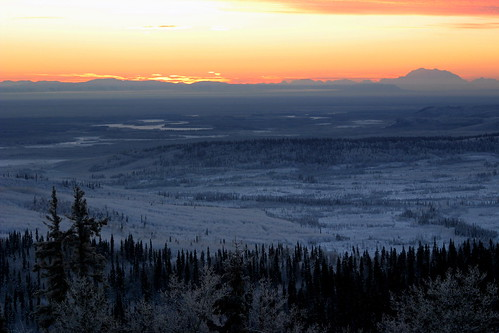 Denali and Tanana River