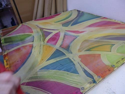 Batik super colorido!!!! by Atelier Mônica de Godoi