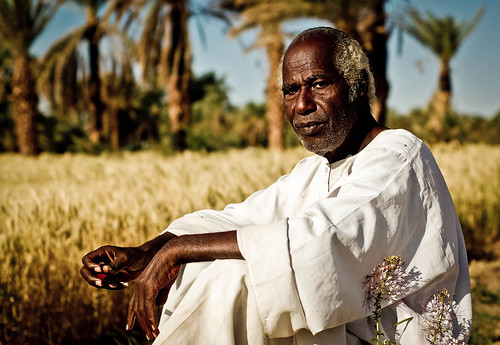 Nubian elder