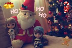 ~Merry Christmas~ (Bruna Lacrout ) Tags: christmas lana natal doll alice feliznatal blythe bangs custom papainoel festas picnik hohoho cuthair rbl croch wiwi urbancowgirl rvoredenatal twitter ucg aroldo primadolly laranjamecnica ixtee winsomewillow pdww sonya230 dearburuna