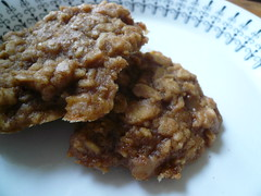 Toffee Apple Oatmeal Cookies