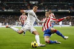 RMadrid vs AMadrid (Kwmrm93) Tags: madrid sports sport canon football spain fussball soccer futbol alvaro ronaldo cristiano futebol atletico fotball ftbol voetbal fodbold bernabeu calcio deportivo fotboll pika  deportiva esport fusball  fotbal jalkapallo   nona nogomet   atleticomadrid     votebol fodbal