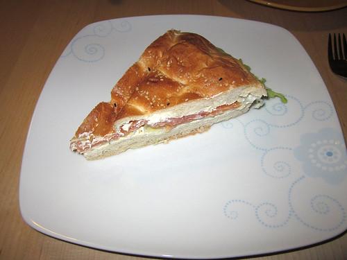 Lachstorte / Salmon tart