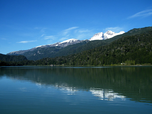 Cerro Tronador from Lago Frías by katiemetz, on Flickr