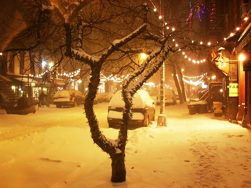 Blizzard 2010, East Village, New York City 2