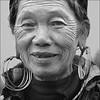Grandma (NaPix -- (Time out)) Tags: portrait bw woman vietnam emotions hmong napix