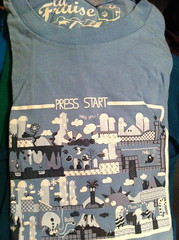 Press Start - Lafraise - RÉSERVÉ (_Bao_) Tags: americanapparel threadless teeshirt lafraise