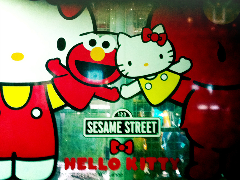 kitty elmo