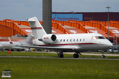 N43R - 5334 - Rockwell International - Canadair CL-600-2B16 Challenger 604 - Luton - 100511 - Steven Gray - IMG_0902