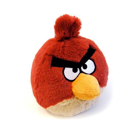 Red - Angry Bird Plush Toy 愤怒的小鸟毛绒玩偶