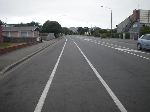 クライストチャーチの自転車レーン
