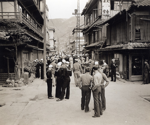 US Military Personnel on Leave In Sasebo Japan 1945/46 by captainpandapants