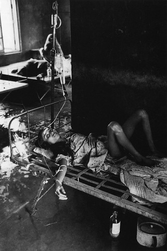 Hospital Bed, India, by Don McCullin