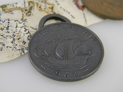 Ship Coin Pendant 1/365 Tada