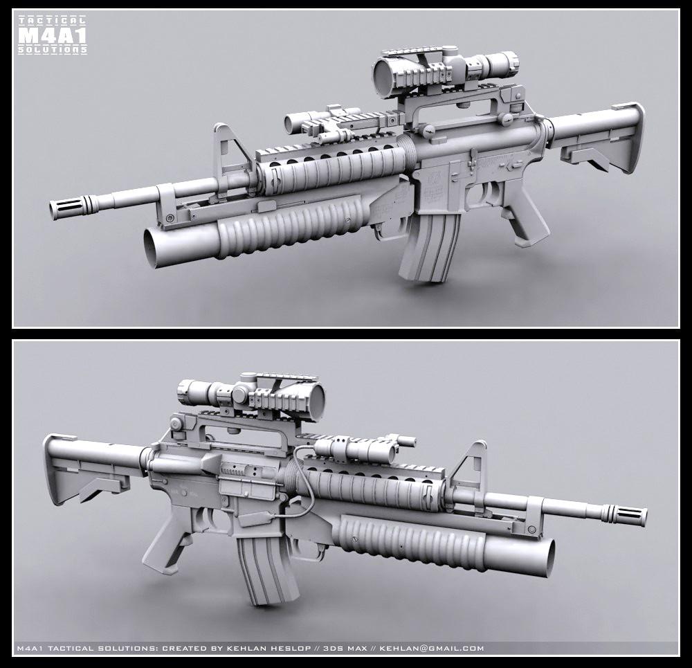 BOYI AIRSOFT M4A1 : AIRSOFT M4A1