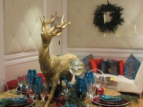 Holiday Deer Table Settings