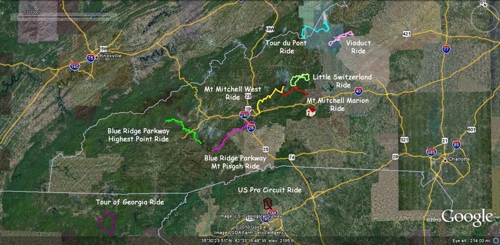 North Carolina Ride Overview Update