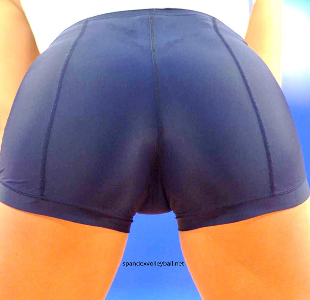 volleyball shorts cameltoe