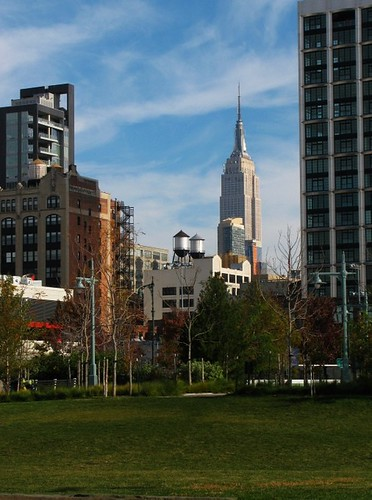 Park and Empire State Building