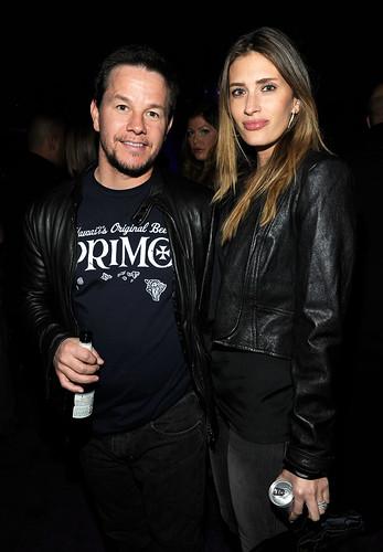 Mark Wahlberg and Rhea Durham New Year's Eve at Marquee Nightclub in The Cosmopolitan of Las Vegas