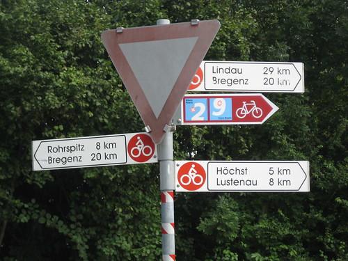 Wo bitte gehts jetzt nach Bregenz?