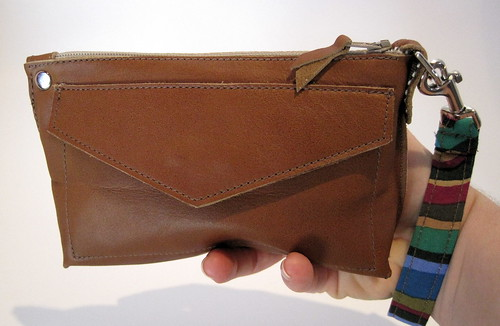Perfect Little Clutch in brown