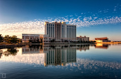 Lake Carolyn - Las Colinas - Irving, TX (todd landry photography) Tags: las lake reflection architecture marriott carolyn hotel nikon texas irving hdr colinas d90