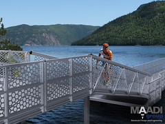 MAADI Group - Floating bridge - 04 (maadigroup inc) Tags: railroad bridge usa nature architecture golf foot design marine portable industrial ship quebec crane gator steel welding military navy structures floating engineering continental pedestrian structure trellis equipment architect trail pony walkway modular maritime assemble pont builders vehicle warren material easy elevated naval harbors beams corrosion platforms skyway breakwater lessard ecofriendly lifting coastlines marinas gangway contect skywalk shipbuilding retrofit truss assembler eroding passerelle lifters spreader flottant attenuator prefabricated fabricator facile bridgespan modulaire surespan