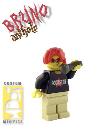 Bruno custom minifig